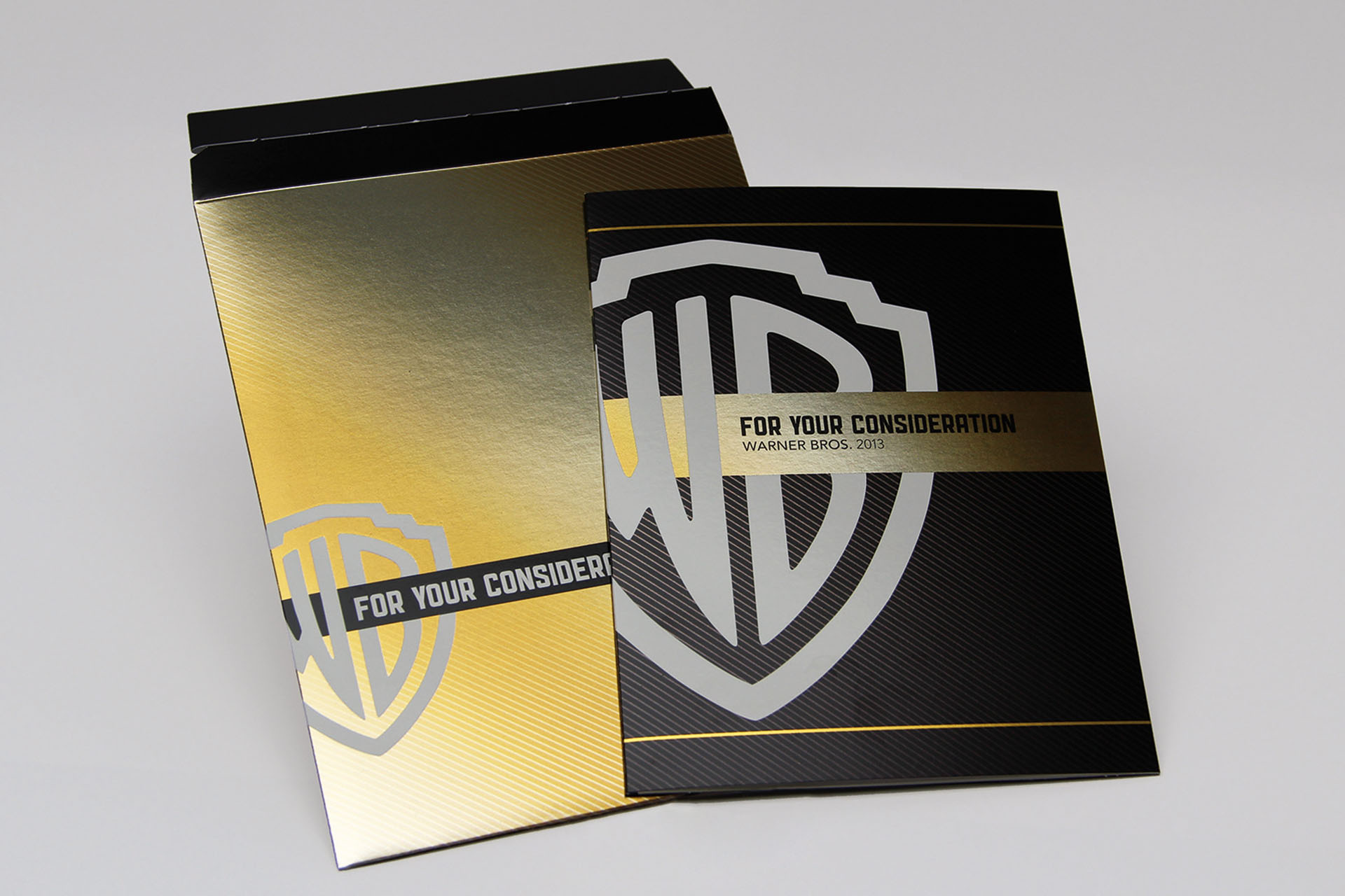 litho printing with cold foil inline and hp indigo printing