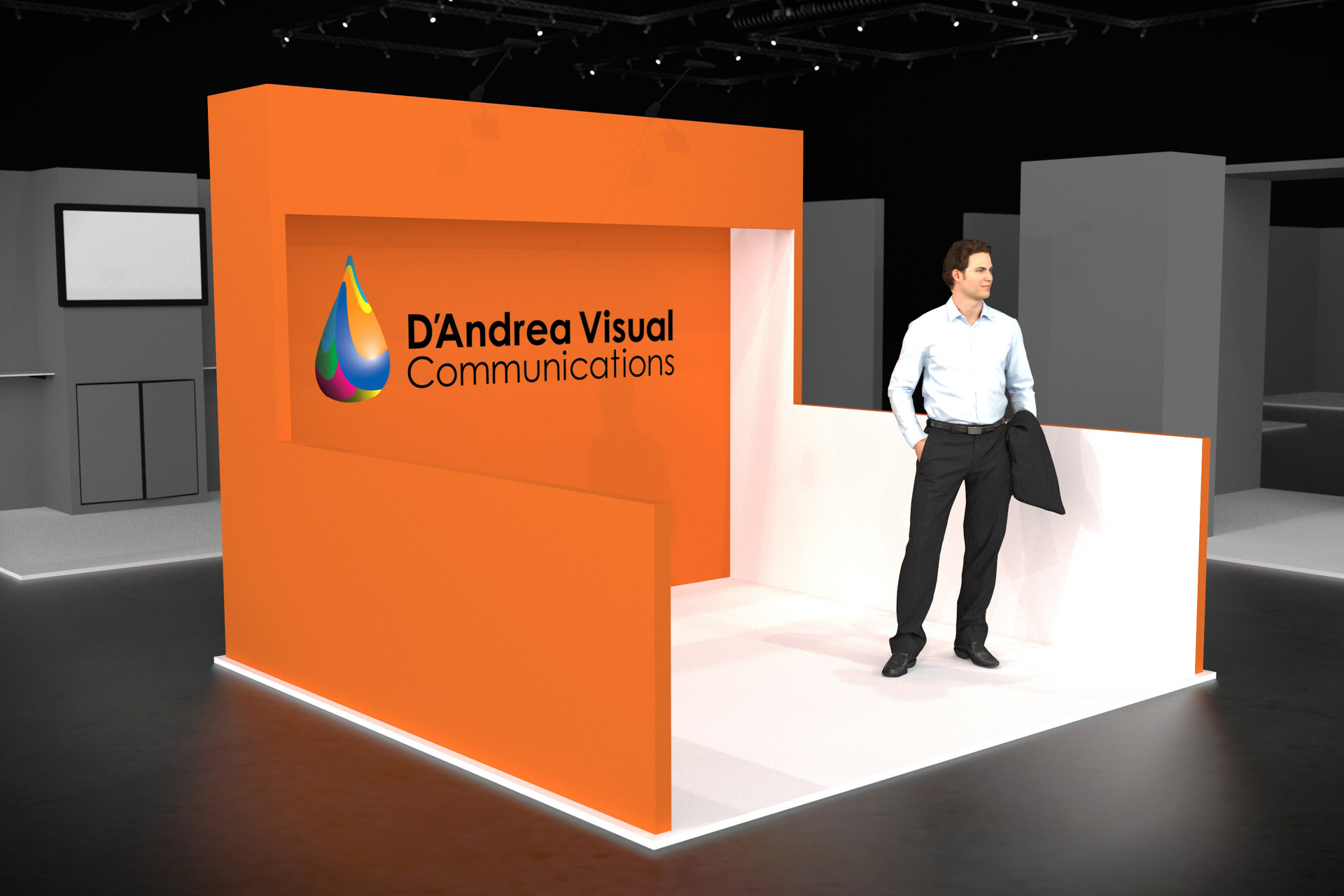 Trade Show Booth Graphic Design : Choose from our modern trade show booth options