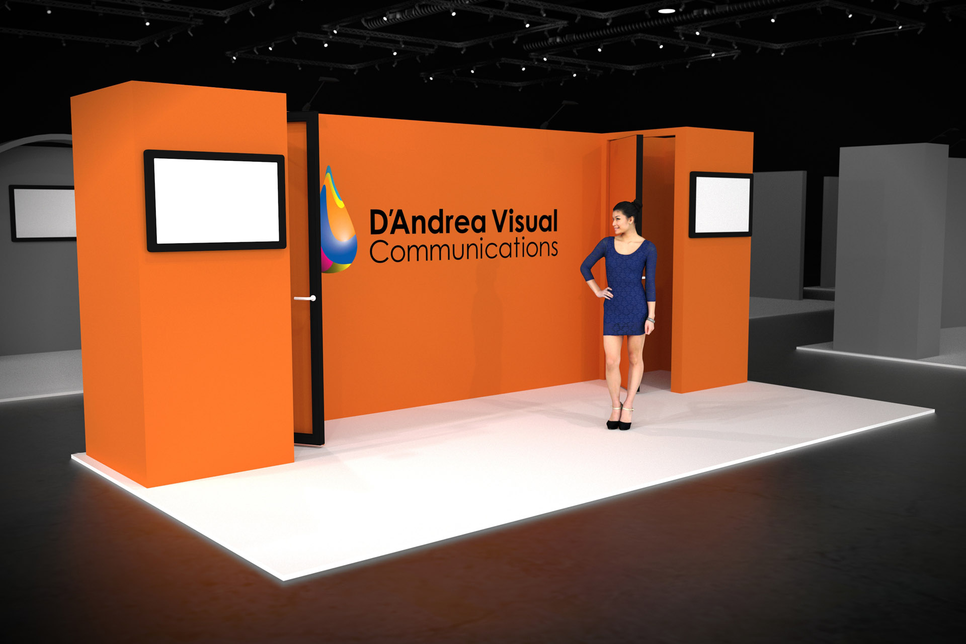 Trade Show Booth Objectives : Choose from our modern trade show booth options