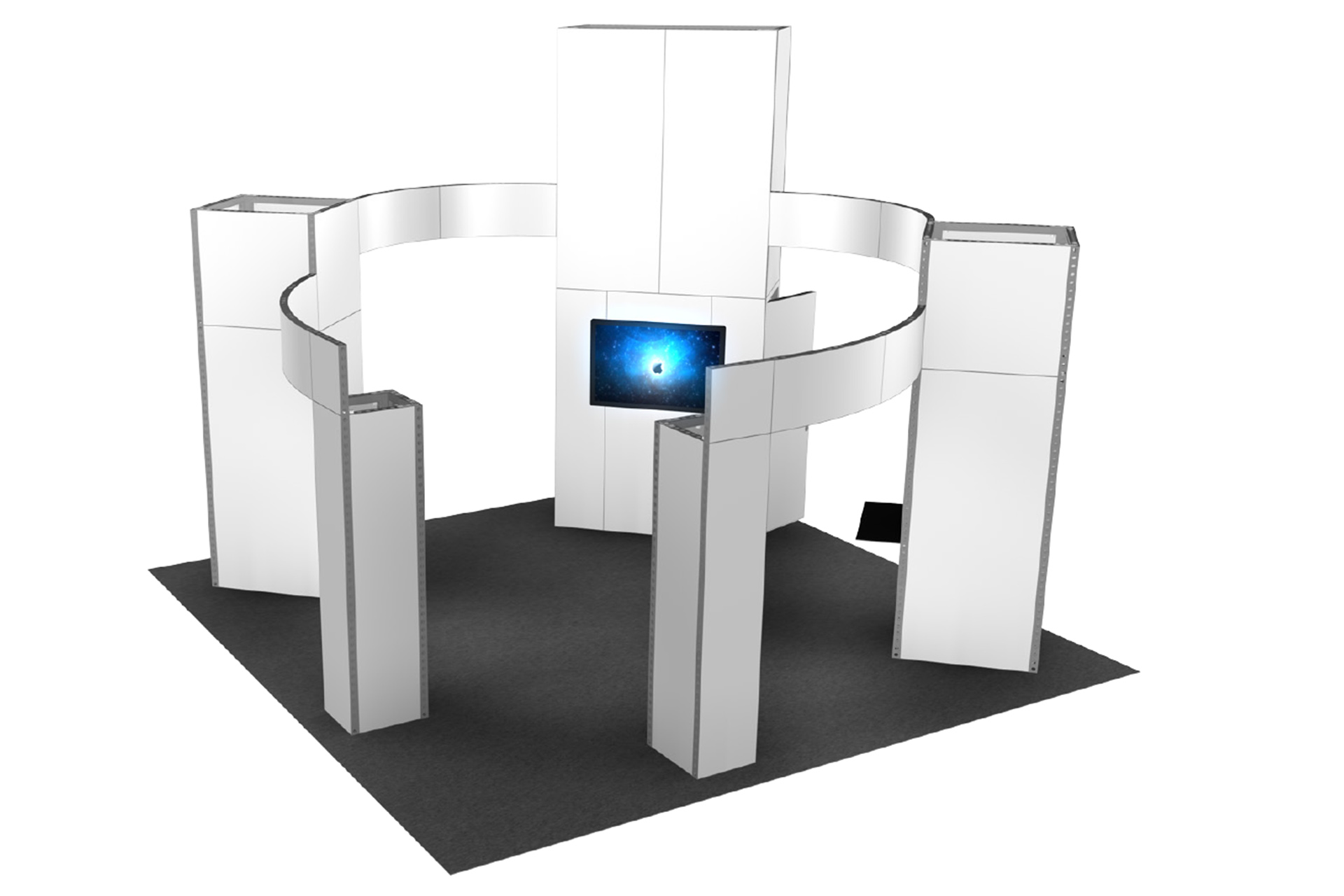 Trade Show Booth Options : Choose from our modern trade show booth options