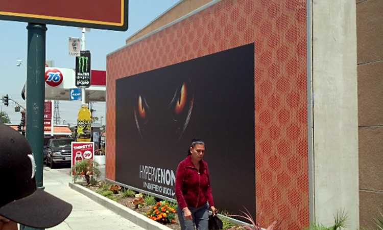 How To Turn Any Space Into A Giant Billboard