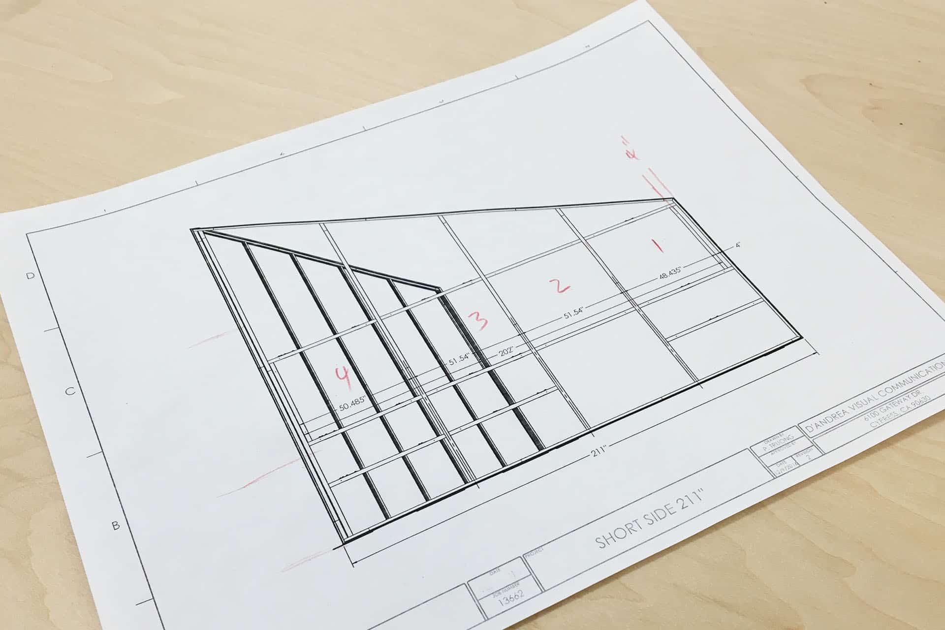 SEG-frame-CAD