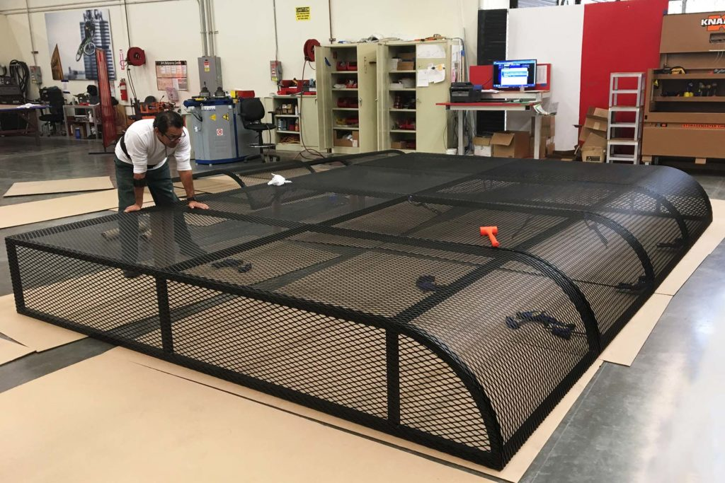 mesh-canopy-fabrication